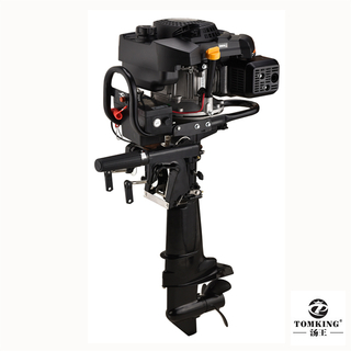 Air-cooled Outboard Motor Zongshen Engine 9.0HP 4-stroke TKZ225RE Gasoline Outboard Motor Electric Start with Reverse Gear