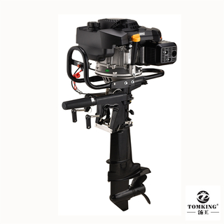Air-cooled Outboard Motor Zongshen Engine 9.0HP 4-stroke TKZ225R Gasoline Outboard Motor with reverse gear